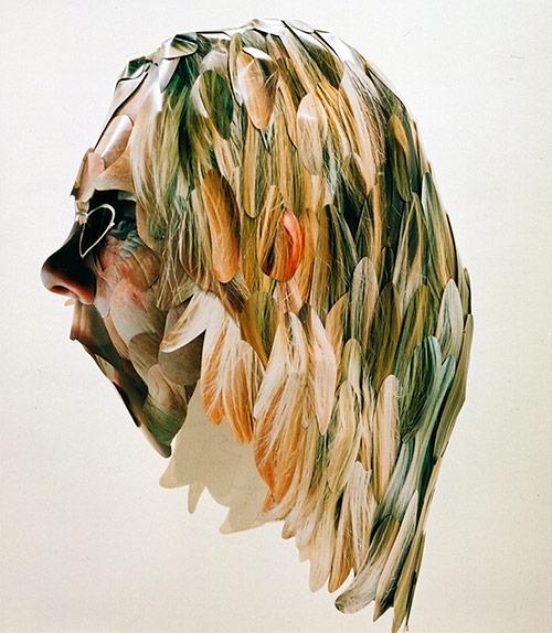 justine khamara artist cut photographs installations sculptures