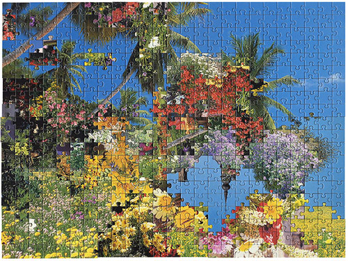 Love Love puzzle collages by Kent Rogowski