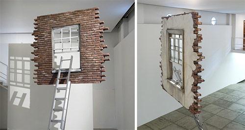 artist leandro erlich sculpture