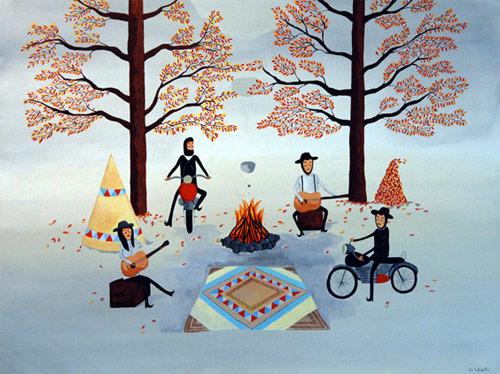 artist painter painting mark alsweiler