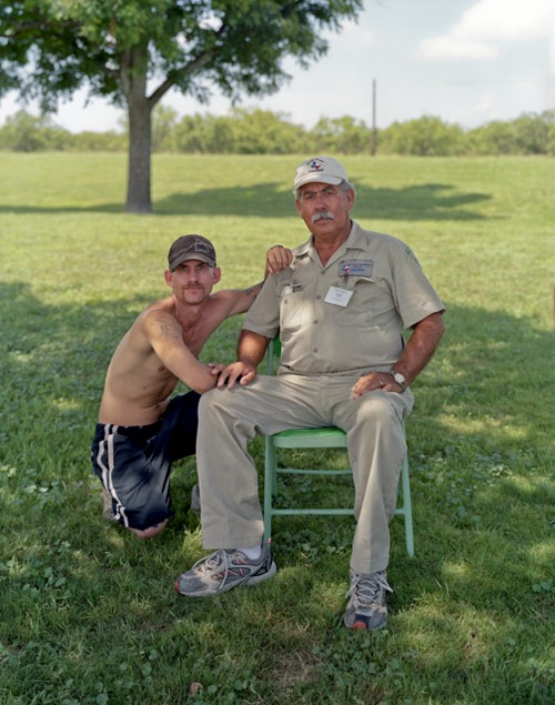 Touching Strangers photo series by Richard Renaldi