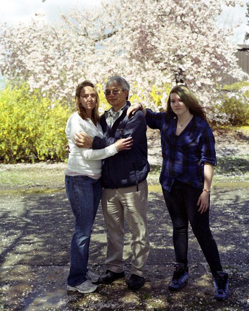 Touching Strangers photo series by Richard Renaldi