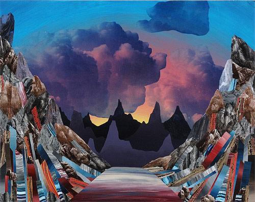 mixed media artist painter painting adam friedman