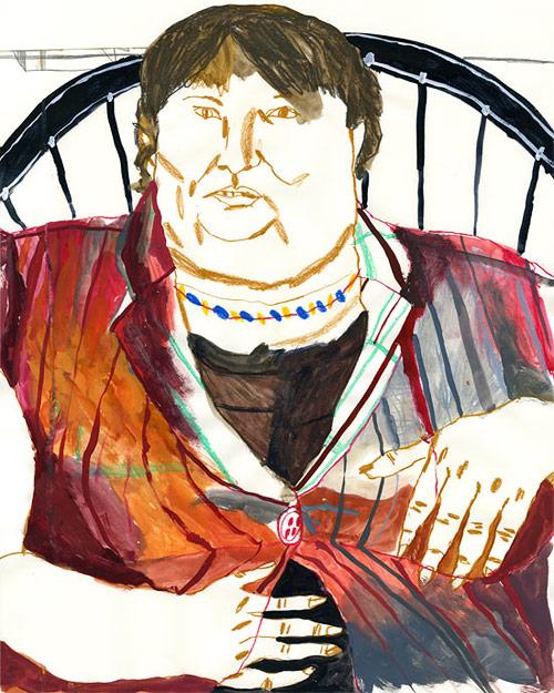 artist ryan haywood drawing