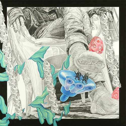 artist ted vasin drawing