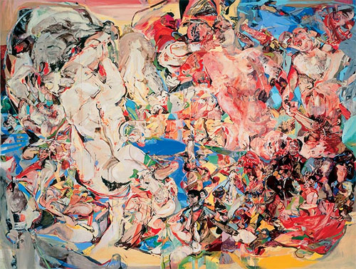 Artist painter painting Cecily Brown