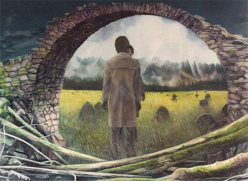 artist painter painting christer karlstad