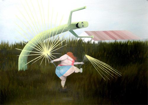 artist painter painting lauren j cohen