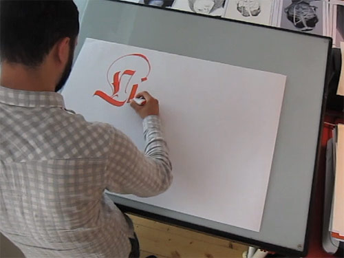 legacy of letters calligraphy by luca barcellona