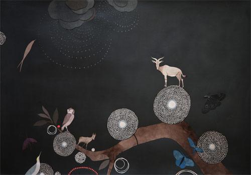 paper collage artist lena wolff