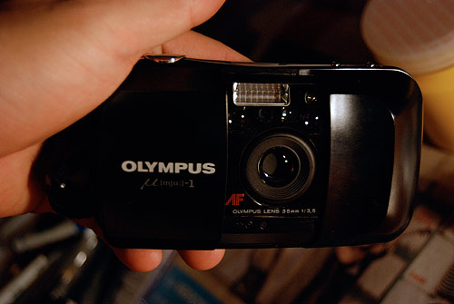 Olympus Stylus EPIC Early AF 35mm camera