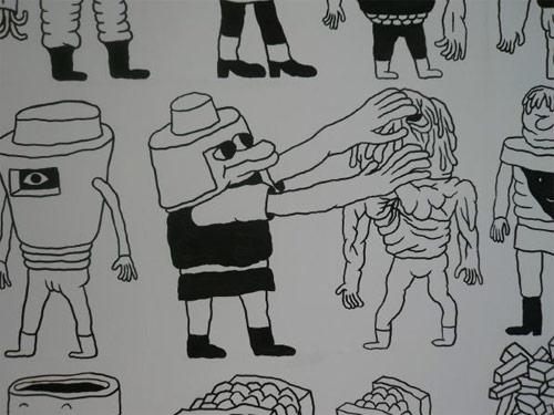 shobo shobo wall drawing