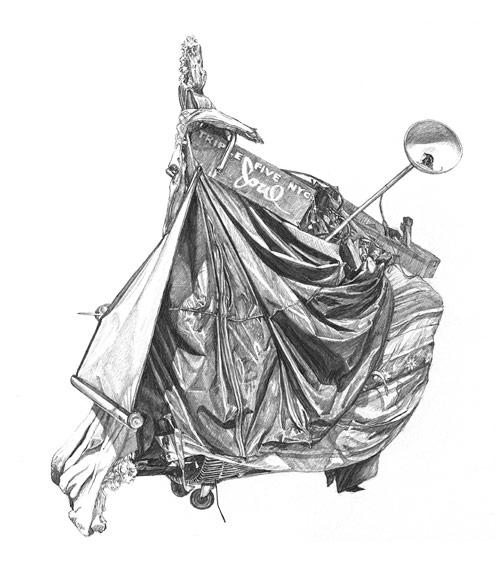 artist drawing taizo yamamoto