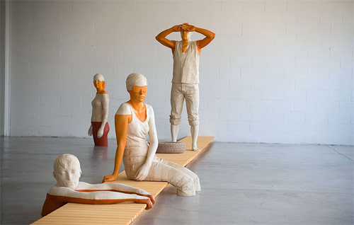 artist willy verginer sculpture