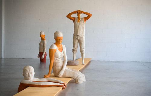 artist willy verginer sculpture