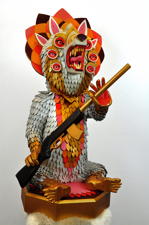 artist aj fosik sculpture wood