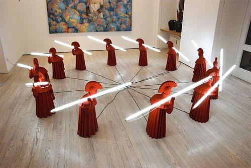 sculpture artist wang shugang