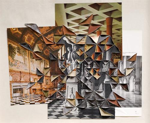 folded photographs by artist abigail reynolds