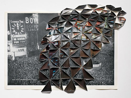 folded photographs by artist abigail reynolds