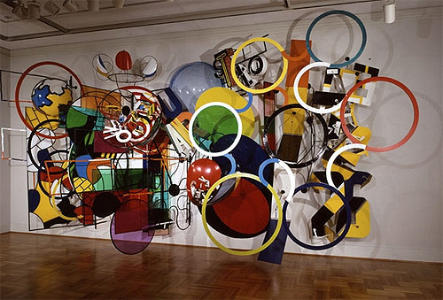 artist judy pfaff sculpture installation
