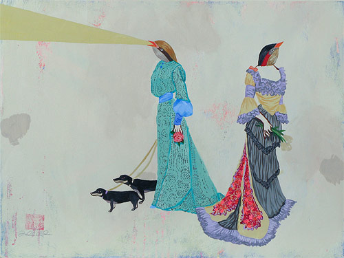 artist painter painting deedee cheriel