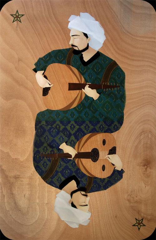 artist painter painting hayv kahraman