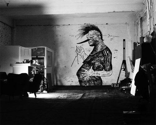 artist ivonne dippmann drawings berlin germany
