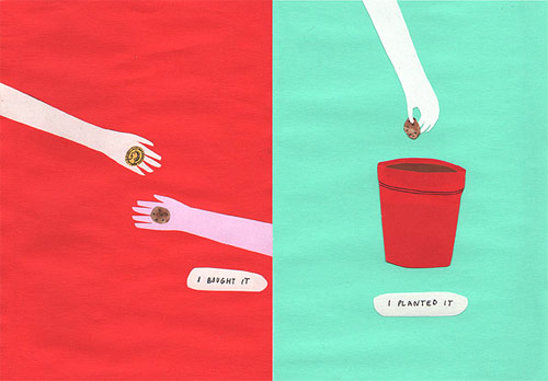 illustrator illustration kaye blegvad drawings potato baby