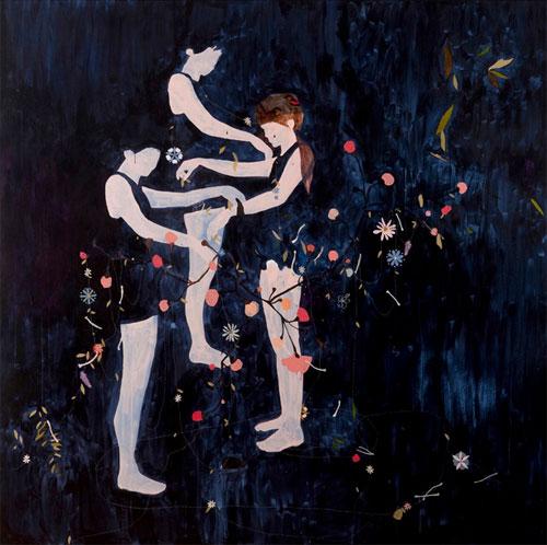 artist painter kirra jamison painting