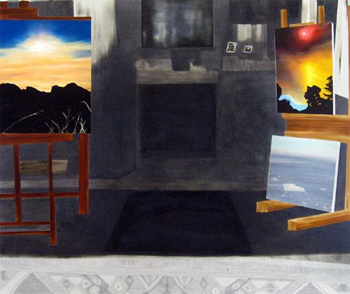 artist painter painting michelle hailey
