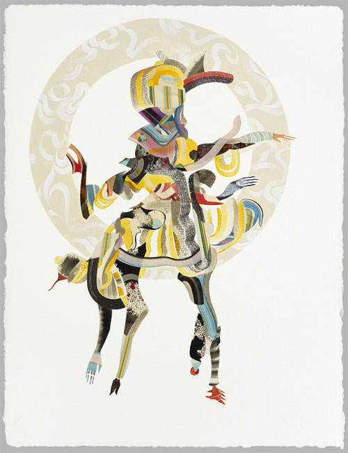 artist painter painting collage robert hardgrave