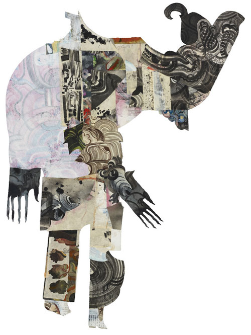artist painter painting collage robert hardgrave