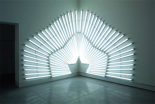 light installations by artist yochai matos