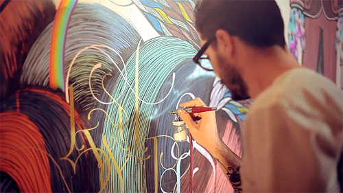 supakitch koralie wall painting mural