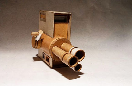 cardboard cameras by kiel johnson