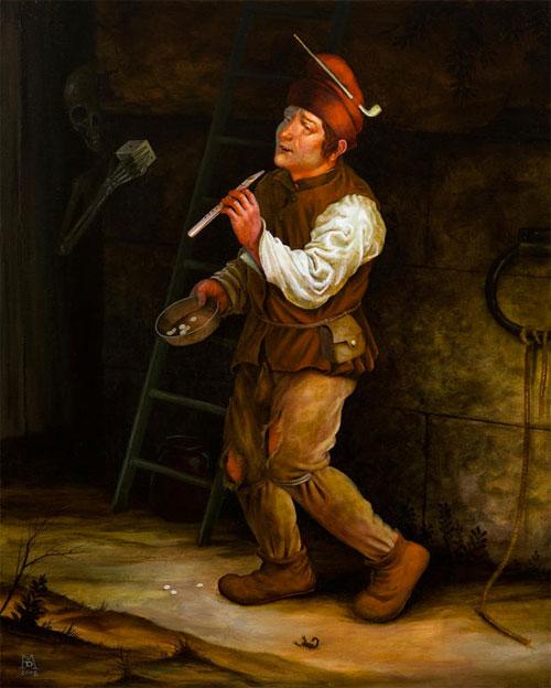 artist painter painting mike davis