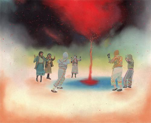 gouache pastel artworks artist rachell sumpter