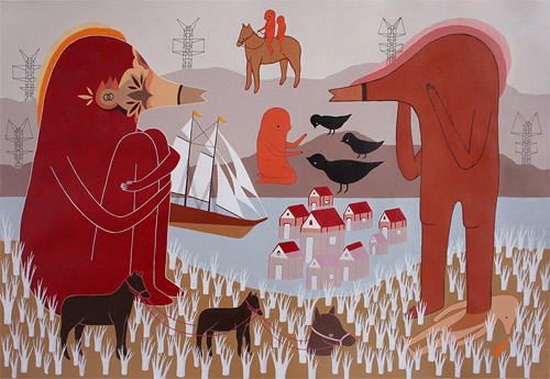 artist drawings talita hoffmann