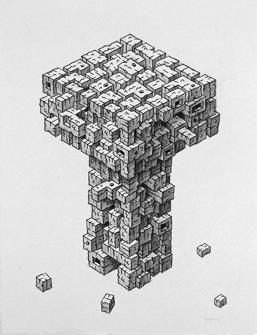artist drawing john borowicz
