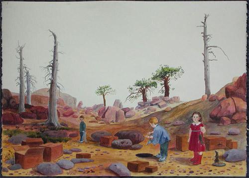 artist painter painting siobhan mcclure