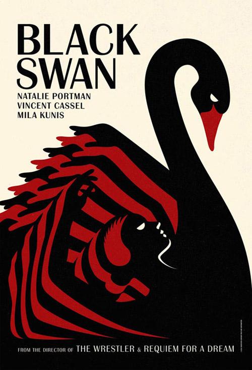 black swan posters by la boca