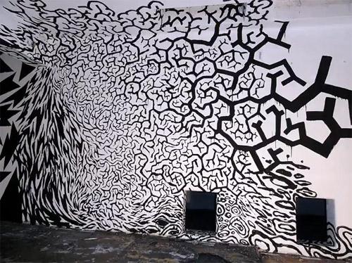horror vacui painting by erosie