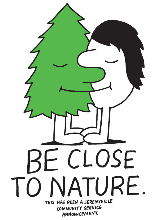 artist drawings by jeremyville community service announcements