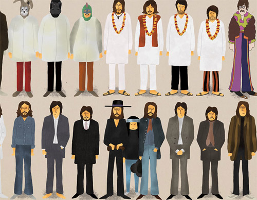 max dalton ten great years beatles poster