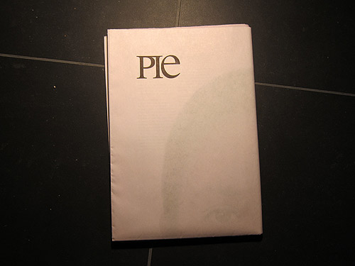 pie paper newspaper magazine publication