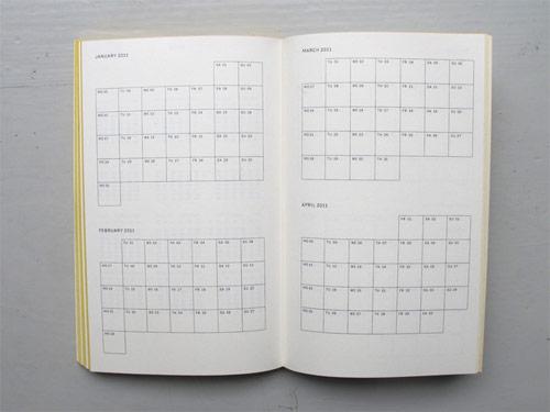 agenda 2011 swiss designer julie joliat