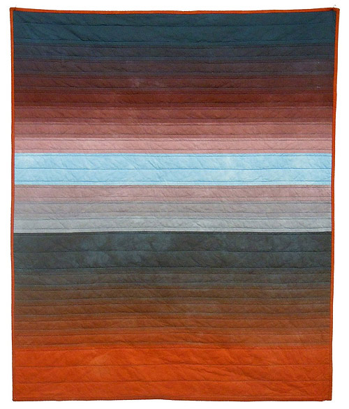 Hand-dyed quilts by Kim Eichler-Messmer