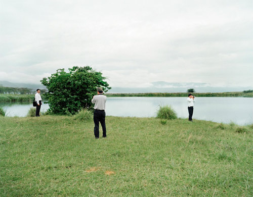 Photographers Inka Lindergard and Niclas Holmstroem