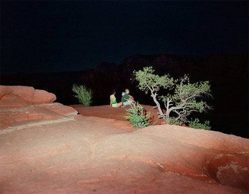 Photographers Inka Lindergard and Niclas Holmstroem