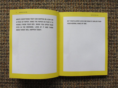 everything that can happen in a day book by david horvitz